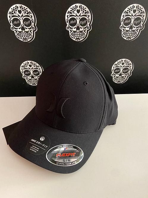 Hurley by nike cap classic logo black/black