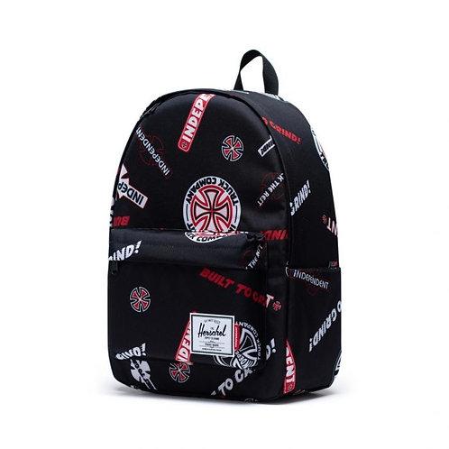 Independent x Herschel classic backpack XL black