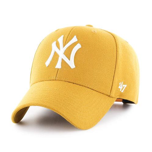 47 brand new york cap yellow