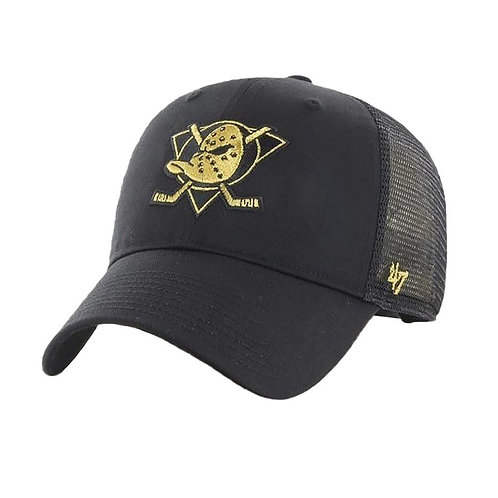 47 brand ducks trucker cap gold
