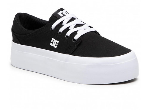 Dc shoes trase platform black/white