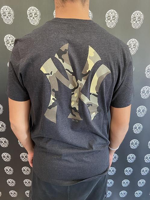 47' brand t-shirt New York yankees grey/black/camo