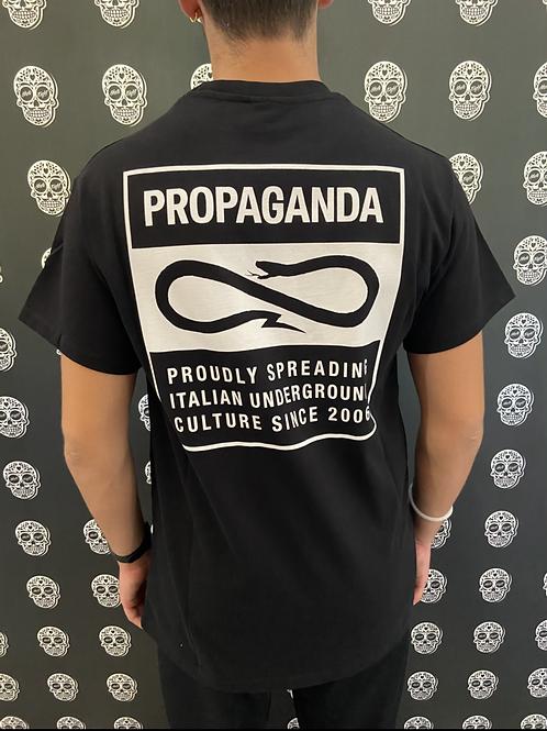 Propaganda blank tee orange