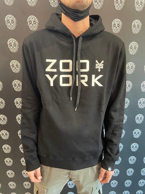 Zoo york hoodie classic logo black