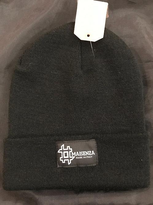 #maisenza cappellino di lana black