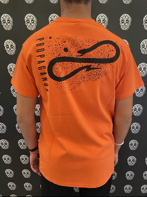 Propaganda dust tee orange