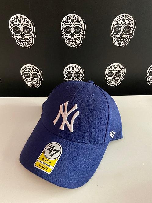 47' brand cap youth newyork yankees blue