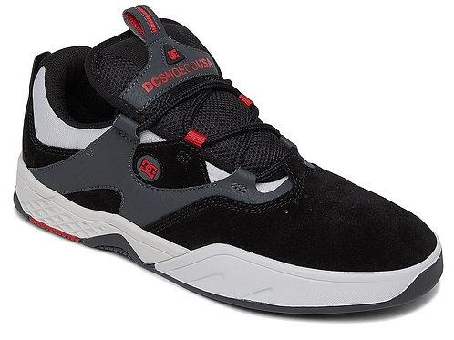 DC shoes kalis black/red/grey