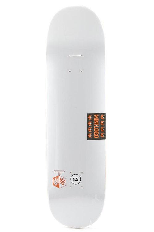 Mini logo chevron detonator white