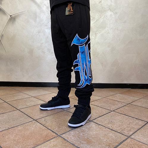 Kaliking blue/black sweatpant