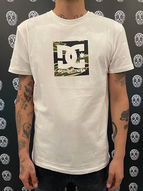 DC shoes t-shirt classic logo camo