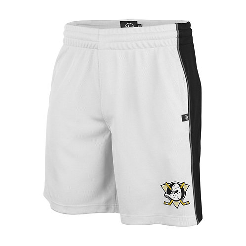 47 brand imprint graffton shorts anaheim ducks white