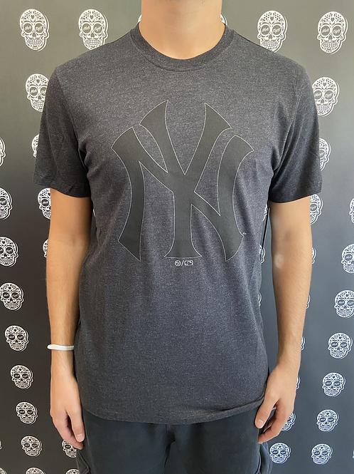 47' brand t-shirt New York yankees grey/black