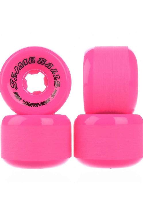 Slime balls scudwads vomit neon/pink
