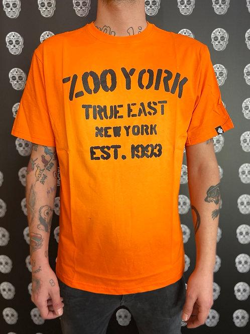 Zoo York t-shirt stencil orange