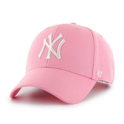 47 brand new york cap pink
