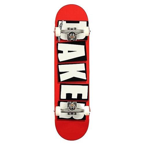 """Baker brand logo white COMPLETE 7.75"""""""