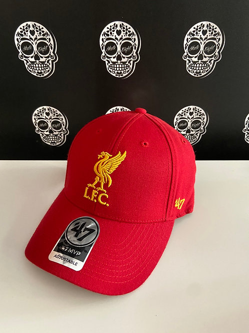 47' brand cap liverpool f.c. red
