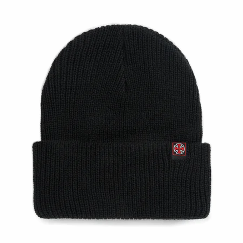 Independent edge beanie black