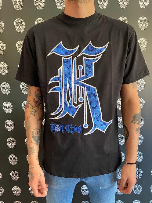 Kaliking t-shirt camo/blue