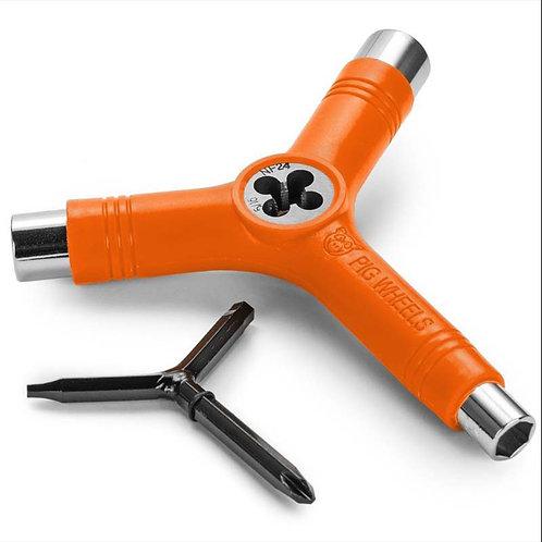 Pigwheels tool key colored orange pro