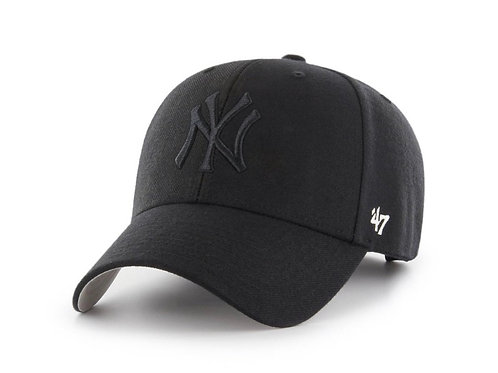 47 brand new york cap black/black