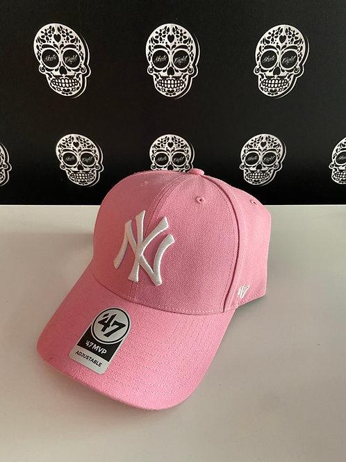 47' brand cap newyork yankees pink