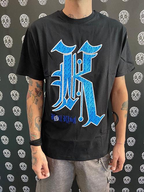 Kaliking t-shirt blue k