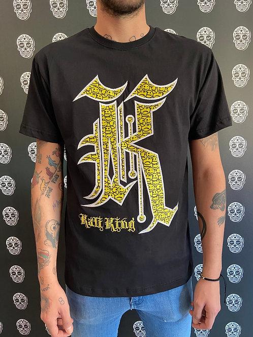 Kaliking t-shirt smile/black