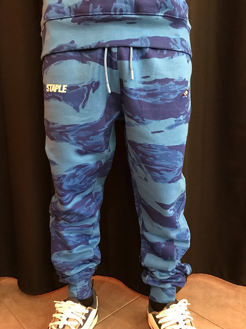 Staple sweatpants blue