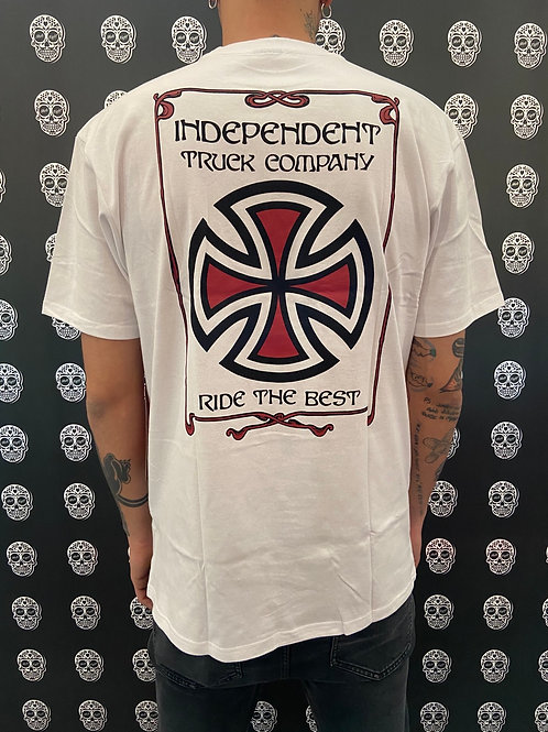 Independent confine tee white