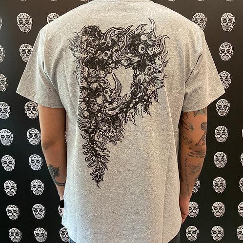 Propaganda t-shirt S grey