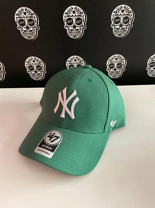 47' brand cap newyork yankees green