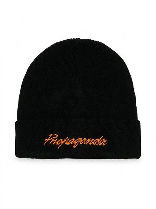 Propaganda beanie black/orange