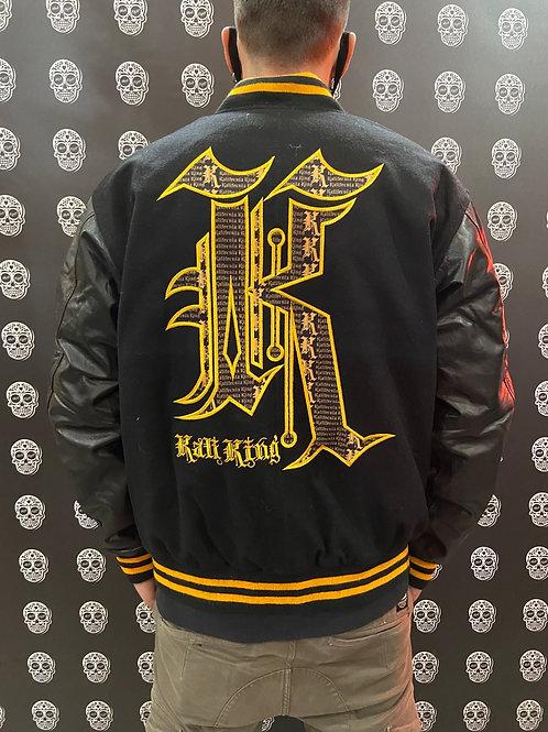 Kali King giubbino black/gold