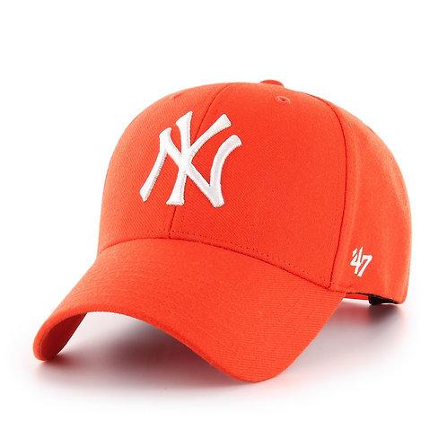 47 brand new york cap orange