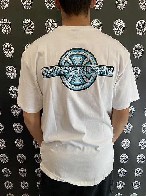 Independent truck co. stained glass t-shirt