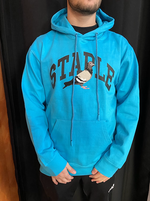 Staple blue logo hoodie