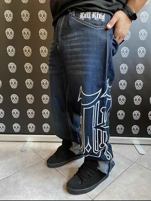 Kaliking jeans big rose