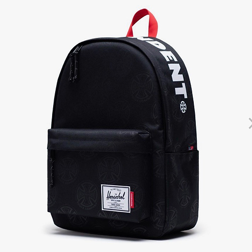 Independent x Herschel classic backpack XL multi cross black