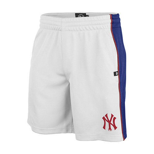 47 brand imprint graffton shorts new york yankees white