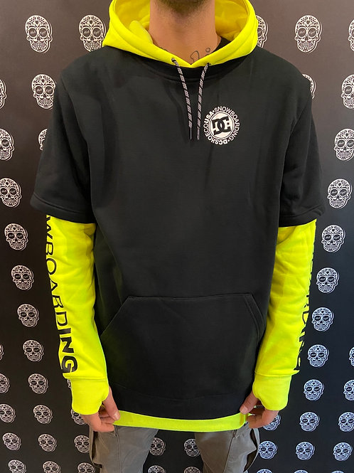 DC shoes hoodie snow Dryden yellow fluo/black