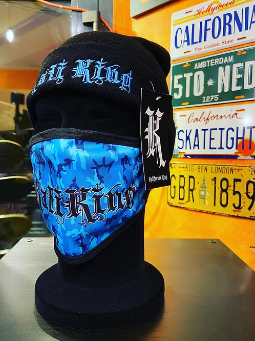Kali king cappellino blue