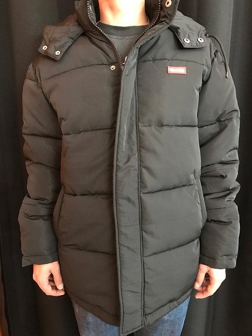 Globe ignite puffer jacket black