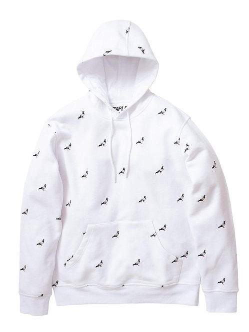 Staple all over hoodie