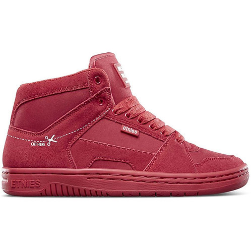 Etnies shoes mc rap high red/white