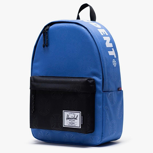 Independent x Herschel classic backpack XL multi cross amparo blue