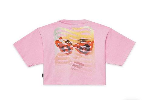 Propagandas t-shirt lolita ribs pink