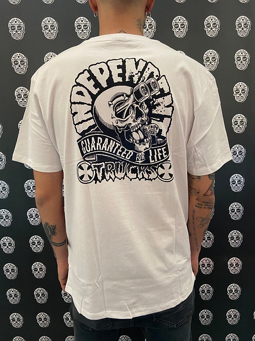 Independent couge tee white