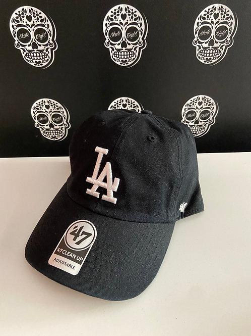 47' brand cap los angeles dodgers white/black
